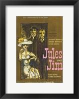 Framed Jules and Jim Moreau Werner Serre