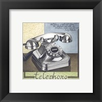 Framed Telephono