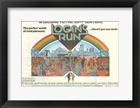 Framed Logan's Run - Horizontal