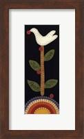 Framed Good Tidings Dove