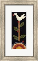 Framed Good Tidings Dove
