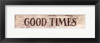 Framed Good Times