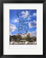 Framed Donnie Darko - cloudy sky