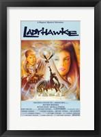 Framed Ladyhawke Michelle Pfeiffer