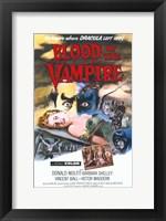 Framed Blood of the Vampire