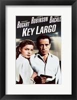 Framed Key Largo Cast