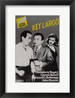 Framed Key Largo Black and Yellow