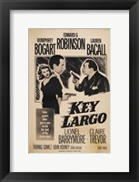 Framed Key Largo Sepia