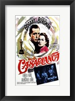 Framed Casablanca Oscar Winner