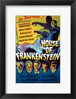 Framed House of Frankenstein