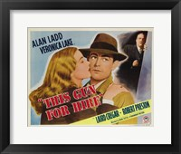 Framed This Gun For Hire Alan Ladd