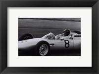 Dutch Grand Prix, 1962 Framed Print