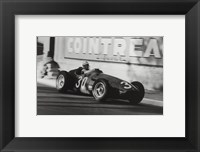 Framed Grand Prix of Monaco, 1956