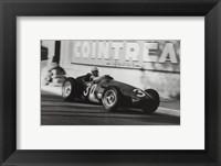 Grand Prix of Monaco, 1956 Framed Print