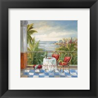 Terrace View 3 Framed Print
