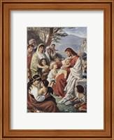 Framed Jesus Blessing the Children