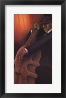 Jazz City 4 Framed Print