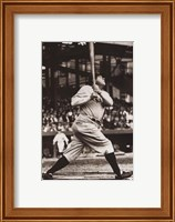 Framed Babe Ruth - The Sultan of Swat