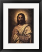 Framed Figure of Christ