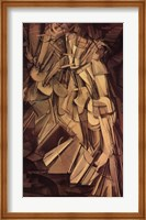 Framed Nude Descending a Staircase, No. 2, 1912