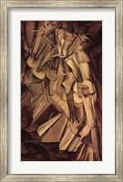 Framed Nude Descending a Staircase, No. 2, 1912
