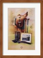 Framed Equestrian Illustration II