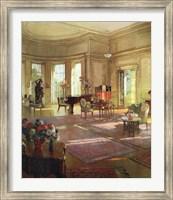 Framed Maude Allan's Music Room
