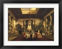 Framed La Salle a Manger de la Princesse Mathilde