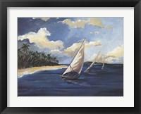 Framed Caribbean Paradise II