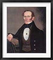 Framed Mr. Pearce, c. 1835