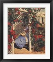 Framed Evan Wilson - The Rose Garden