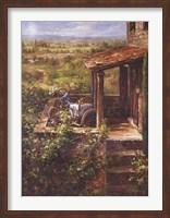 Framed Tuscan Patio