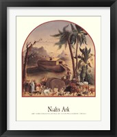 Framed Noah's Ark