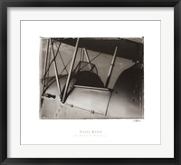 Framed Biplane Detail