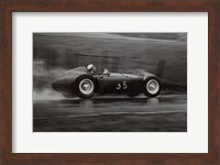 Framed Grand Prix of Belgium, 1955