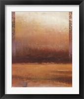 Framed Mist on the Horizon