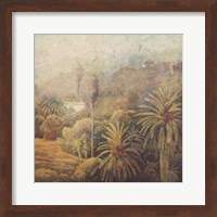Framed Garden Palms I