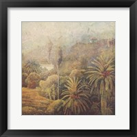 Framed Garden Palms I