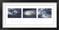 Framed Pure Color (triptych)