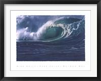 Framed Waimea Bay