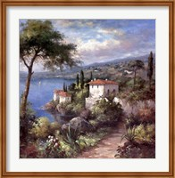 Framed Villa Flora Two