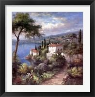 Framed Villa Flora Two