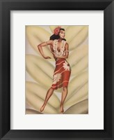 Graceful Dancer Framed Print