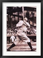 Framed Babe Ruth  The Sultan of Swat