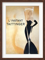 Framed L'Instant Taittinger
