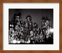 Framed Central Park South 1947 (large)