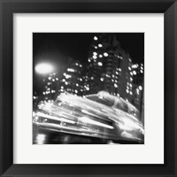 Framed Taxi, New York Night, c.1947