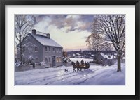 Framed Sleigh Ride
