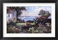 Framed New England Garden