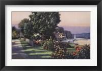 Framed Harbor Roses Southport